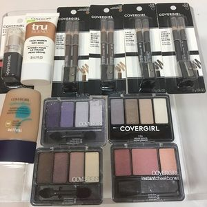 CoverGirl Makeup Lot Of 11 Pc New Sealed Unopened